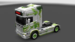 EcoGreen skins for Scania R and Streamline
