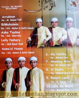 Mp3 Anaasyidusshafa Arrukban Full Album