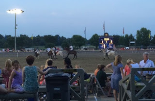 Twilight polo match