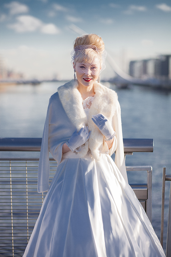 Dirty Fabulous Vintage Bridal Collection Photoshoot With