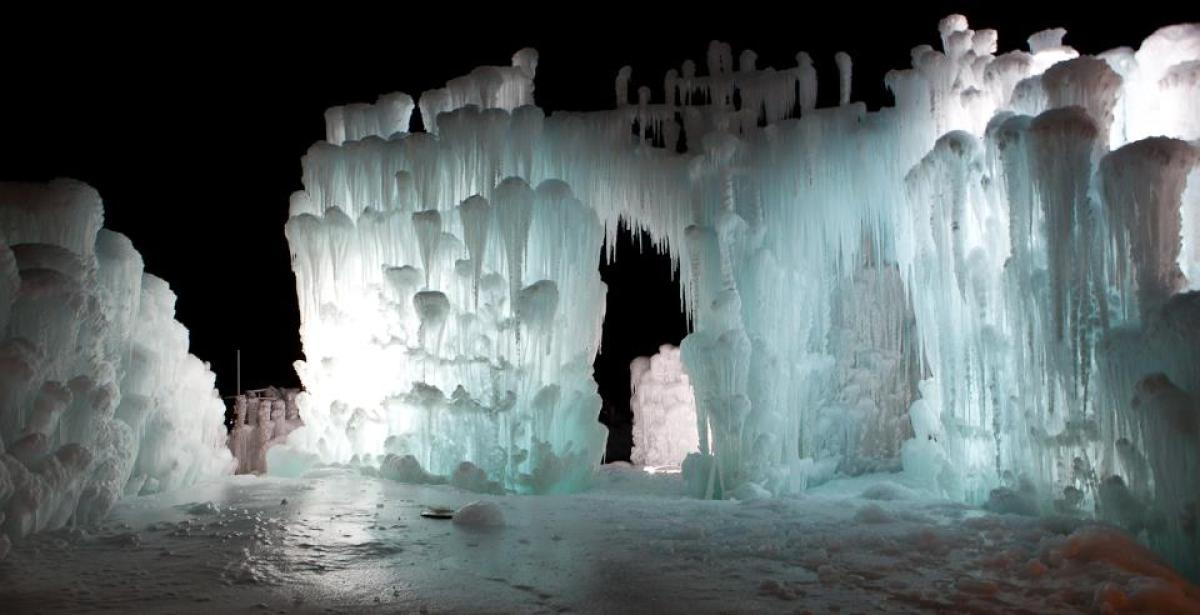 Ice Castle at Silverthorne, Colorado 3
