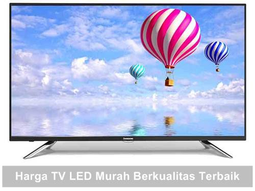 harga tv led murah