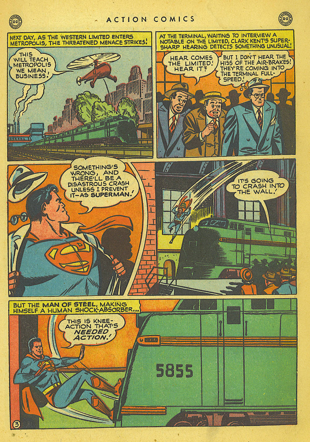 Read online Action Comics (1938) comic -  Issue #135 - 4