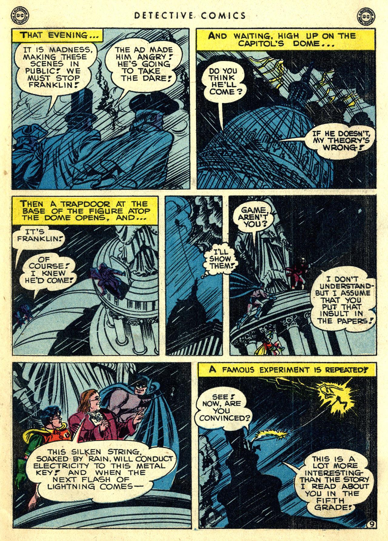 Read online Detective Comics (1937) comic -  Issue #119 - 11