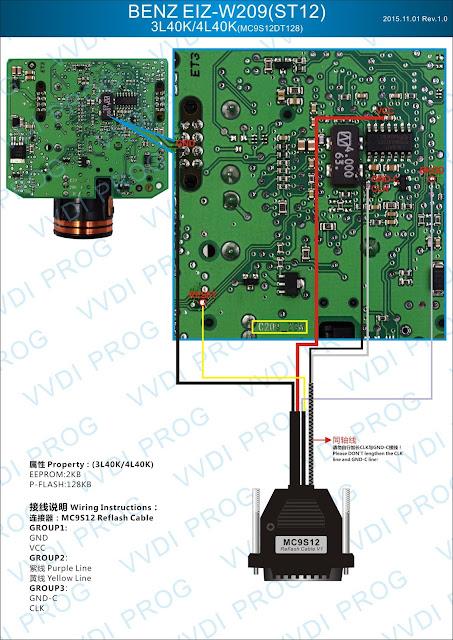 BENZ EIS W209 ST12 3L40K/4L40K