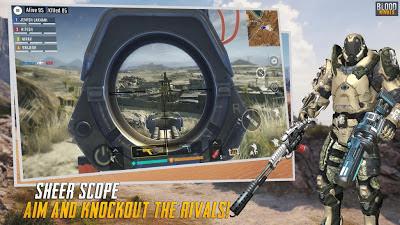 تحميل لعبة تبادل لاطلاق النار Blood Rivals: Survival Battleground النسخة المهكرة للاندرويد باخر تحديث !