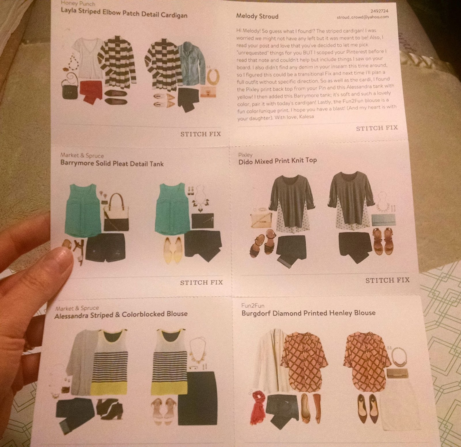 And Here We Go!: Stitch Fix Review #4