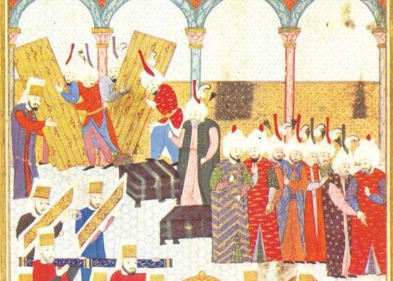 Ottomans tribute ceremony