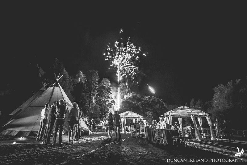 Tentipi_Tipi_Wedding_Photography_Duncan_Ireland_Fireworks