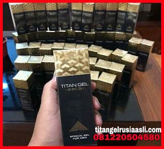 titan gel gold asli atau palsu