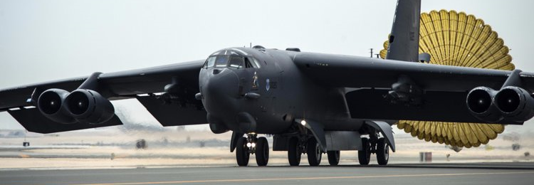 B-52 тренувалися бомбардувати російські бази у Чорному морі