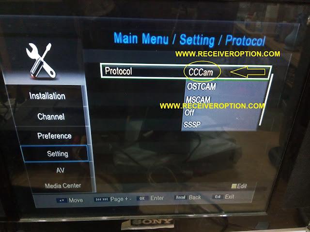 SHAHEEN SR-170 HD RECEIVER CCCAM OPTION