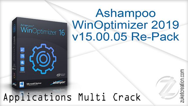 Ashampoo WinOptimizer 2019 v15.00.05 Re-Pack