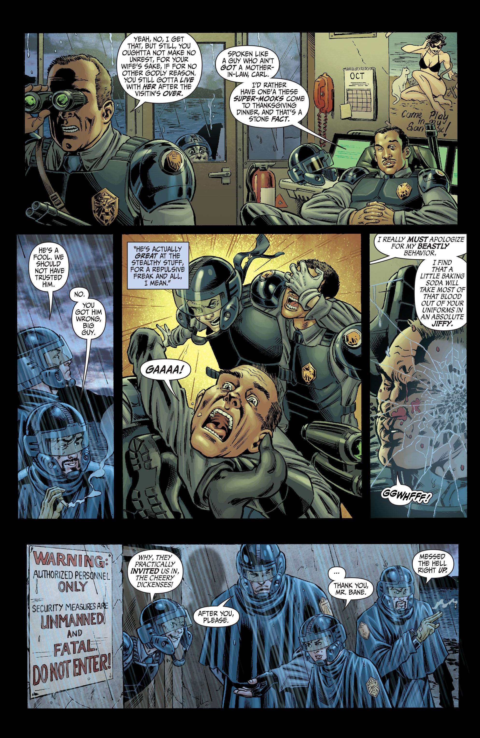 Read online Secret Six (2008) comic -  Issue #2 - 11