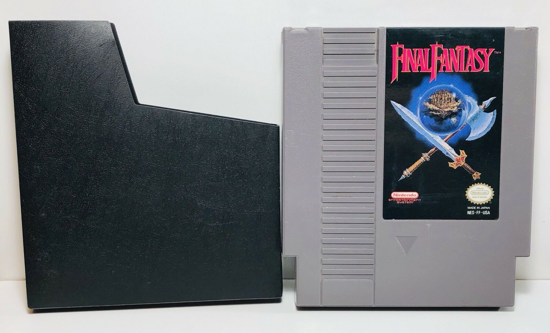 Final Fantasy 1990 cartridge