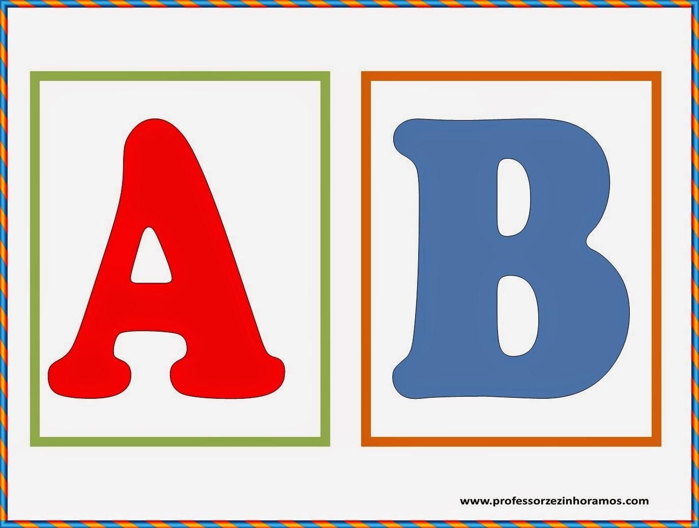 Blog Professor Zezinho Molde De Letra Do Alfabeto Quadradinho