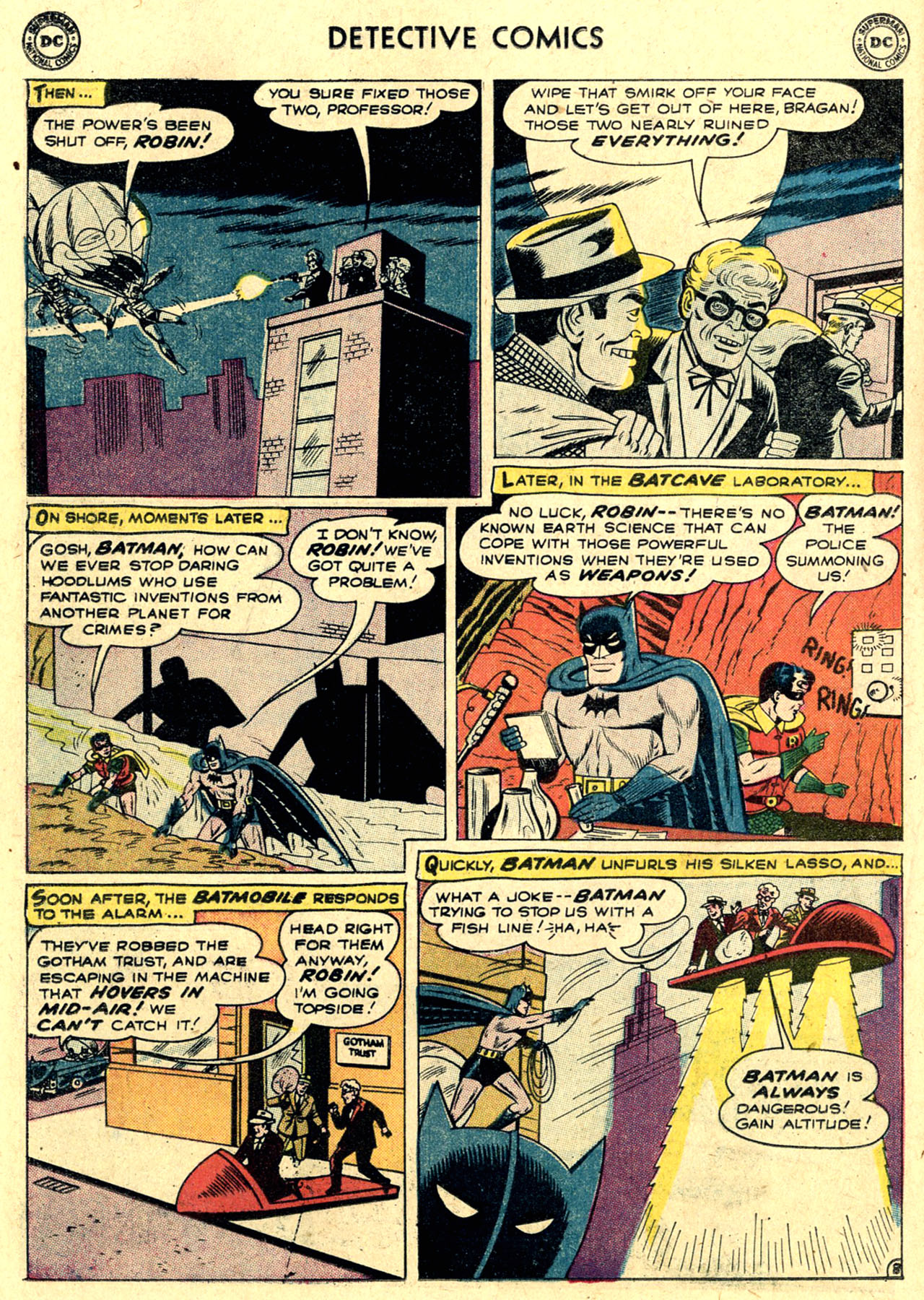Read online Detective Comics (1937) comic -  Issue #263 - 10