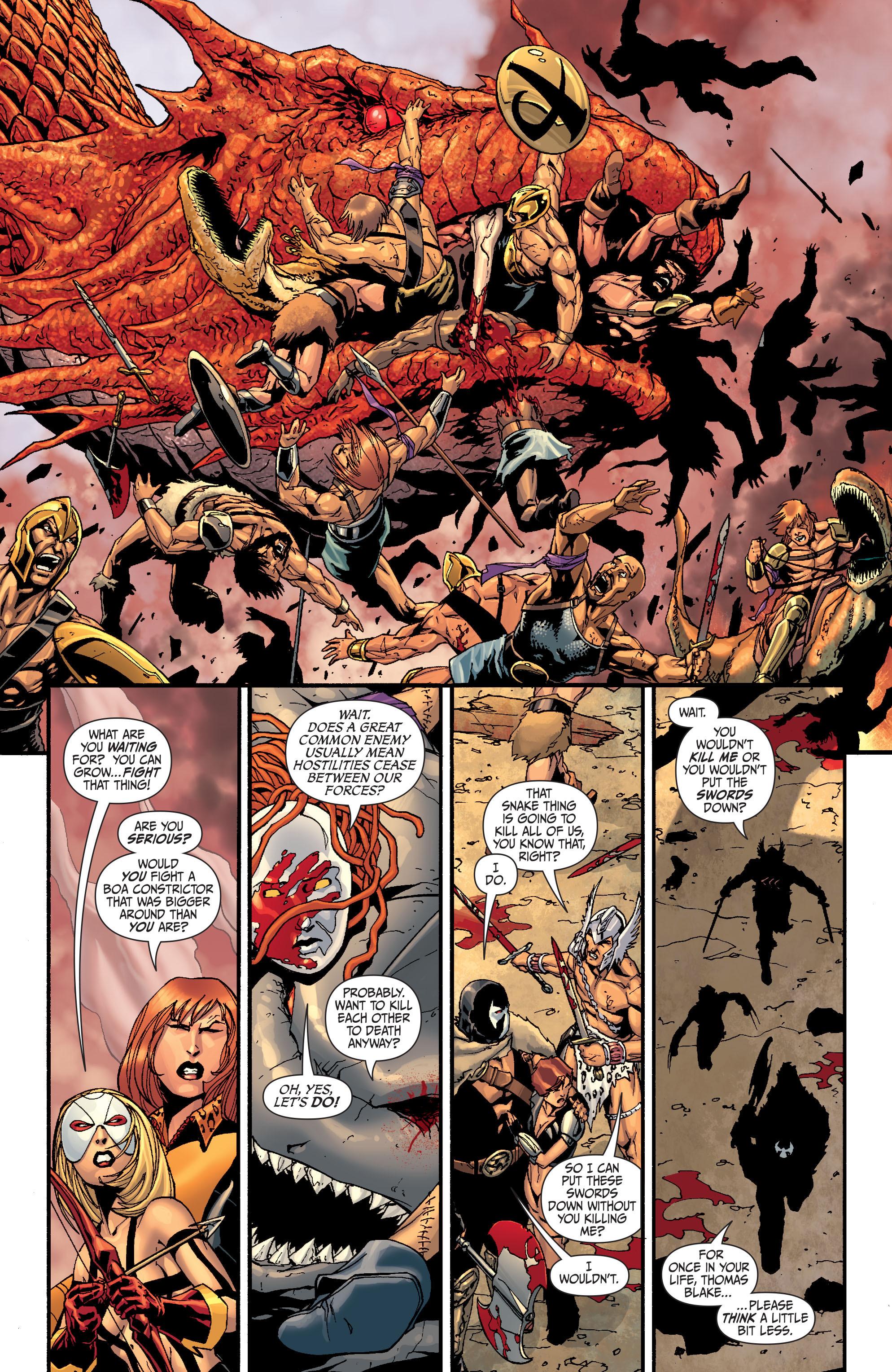 Read online Secret Six (2008) comic -  Issue #28 - 10