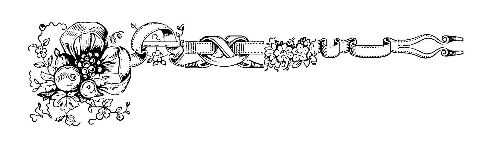 Corner Line Design Clipart