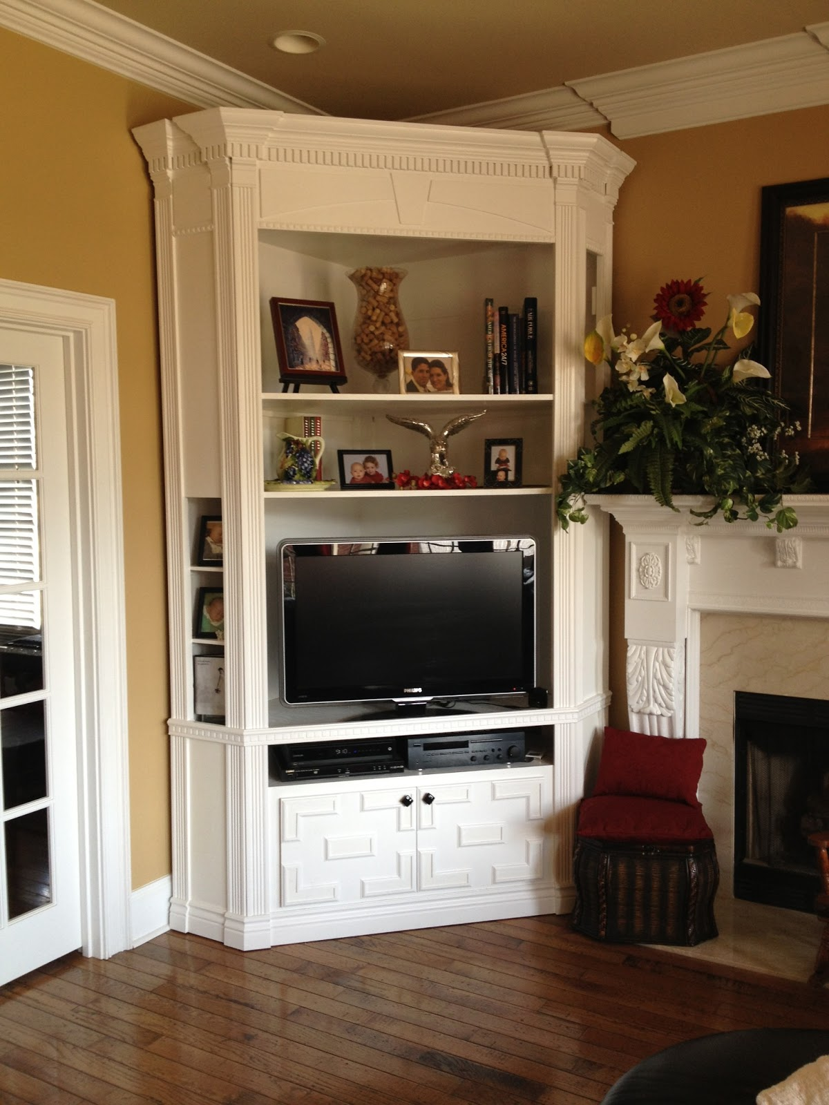 THINK MAKE LIVE LOVE: HOMEMADE TV STAND - PART 3