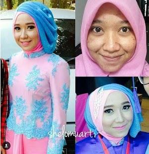 26+ Model Hijab Kebaya untuk Wisuda Simpel dan Elegan 2018