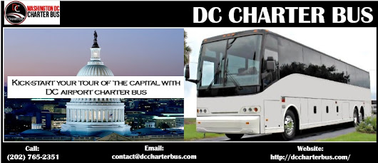 Kick-start your tour of the capital with airport charter bus DC