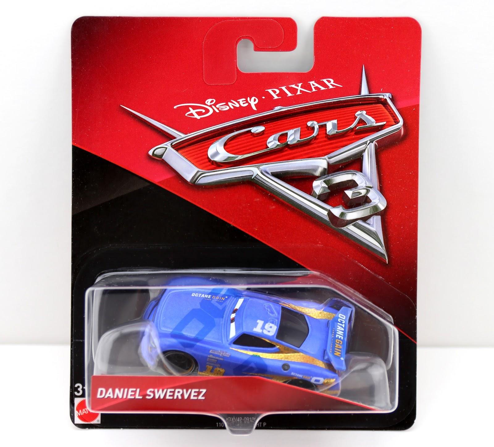 Cars 3 Daniel Swervez mattel diecast