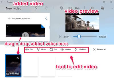Cara Edit Video Menggunakan Aplikasi Foto di Windows 10-4