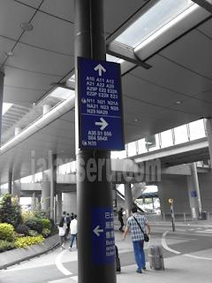 Tiba Di Hongkong AirPort Setelah 4 jam Perjalanan