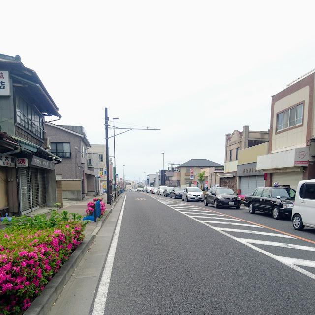 東海道(国道1号)国府津
