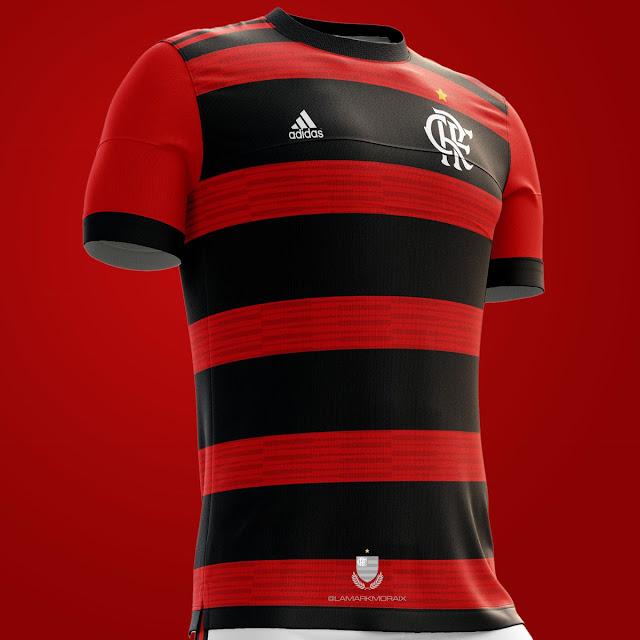 5d61cc48bbf Veja como será o provável novo uniforme do Flamengo para 2018 ...