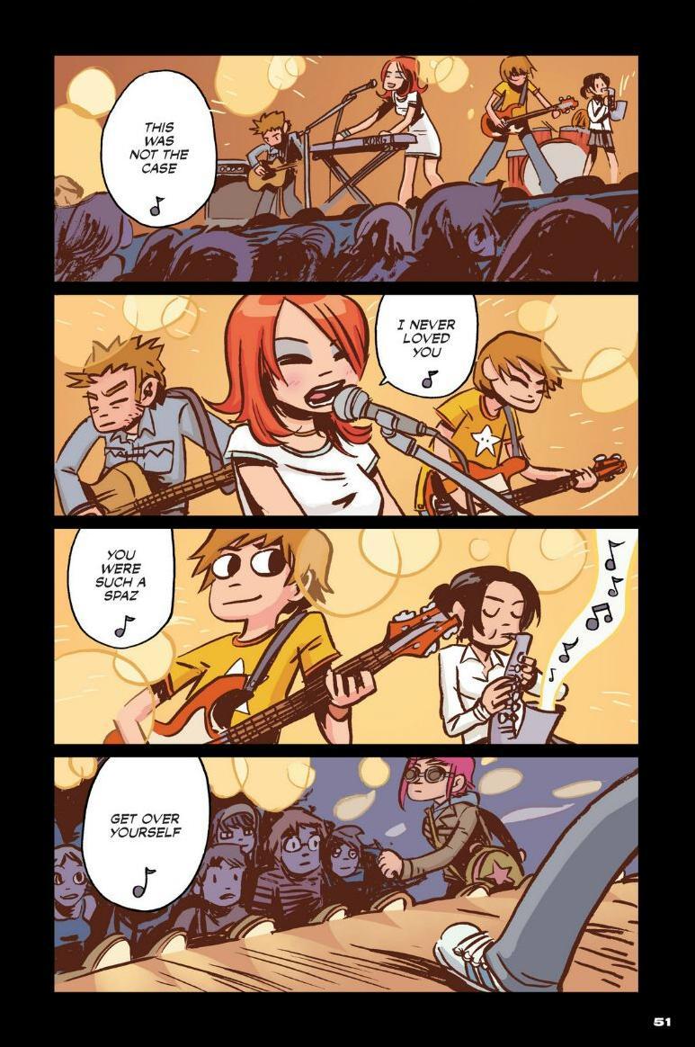Read online Scott Pilgrim comic -  Issue #1 - 45