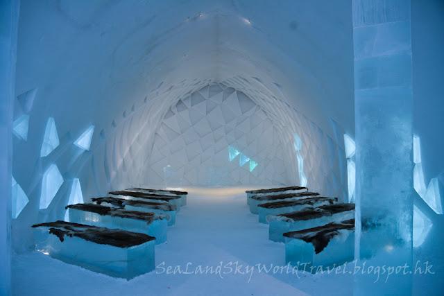 瑞典, 冰酒店, 教堂,  Icehotel, Chapel