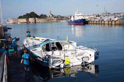 Safran est à l'eau, en route pour le Vendée Globe