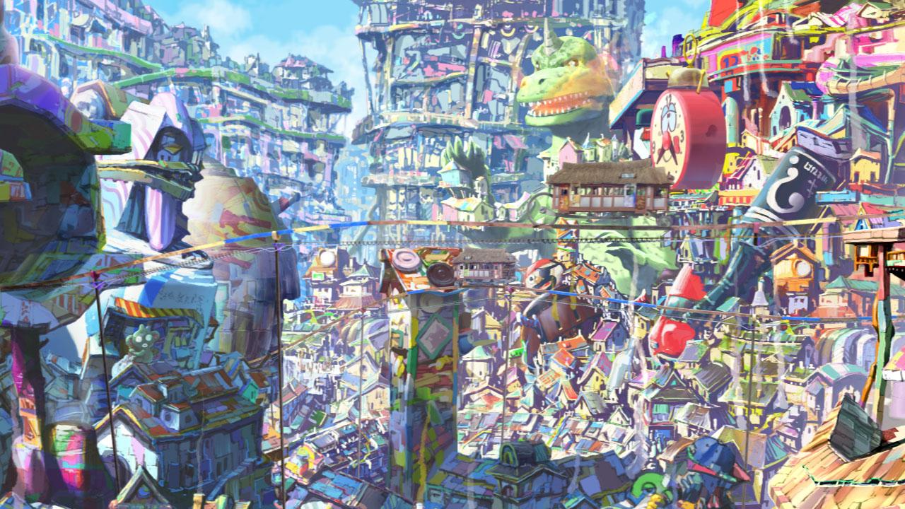 Oblivion Island: Haruka and the Magic Mirror Anime Movie Review