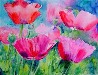 flores-pintadas-diseños-abstractos