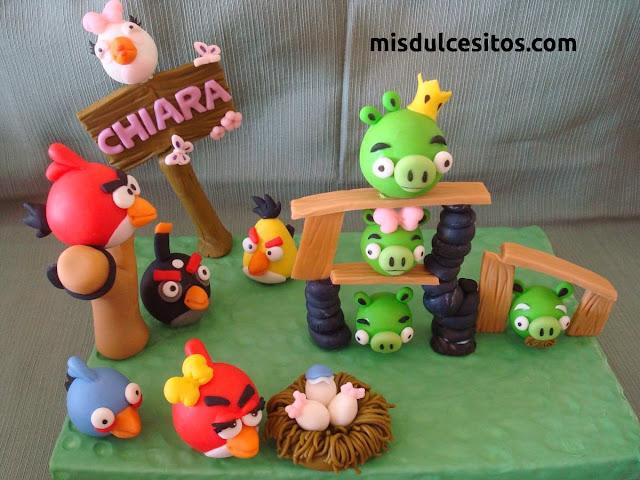 Tortas Angry Birds. Venta de tortas temática Angry Birds en todo Lima