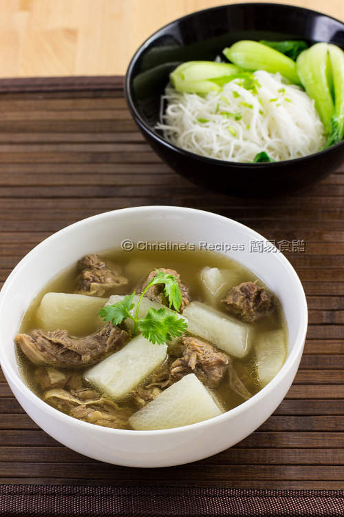 清湯牛腩 Beef Brisket in Clear Broth