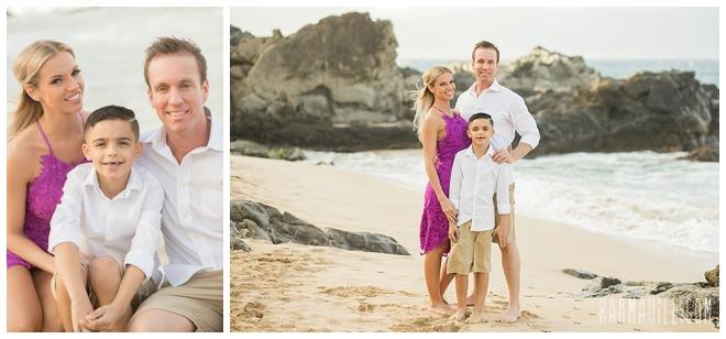 Maui Beach Engagement Portrait