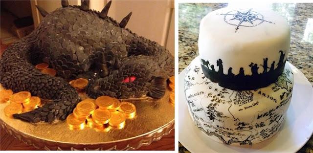 top-4-de-bolos-inspirados-em-filmes-e-series-o-hobbit