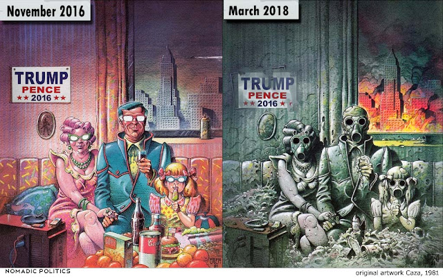 Trump Cartoon Future