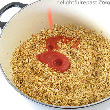 Perfect Fluffy Brown Rice / www.delightfulrepast.com