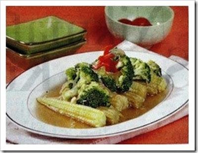 resep brokoli saus tiram