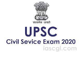 UPSC Civil Service Exam 2020 Check Notification and Exam dates