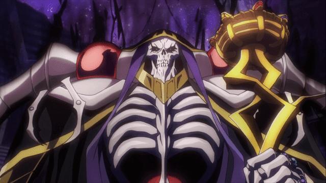 momonga menjadi pemimpin yggdrasil