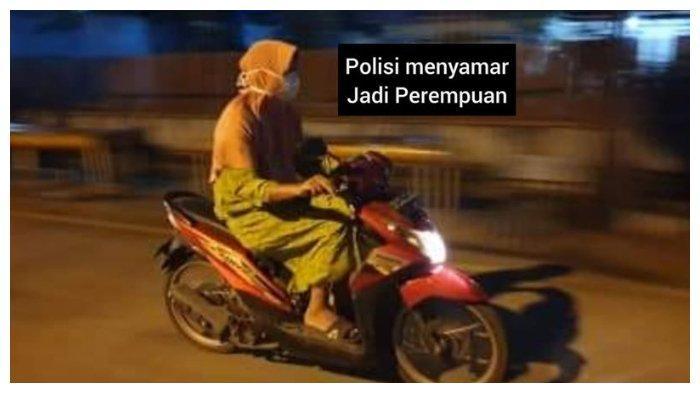 Polisi ini Nyamar jadi Wanita Berdaster dan Berhasil Tangkap 3 Begal.