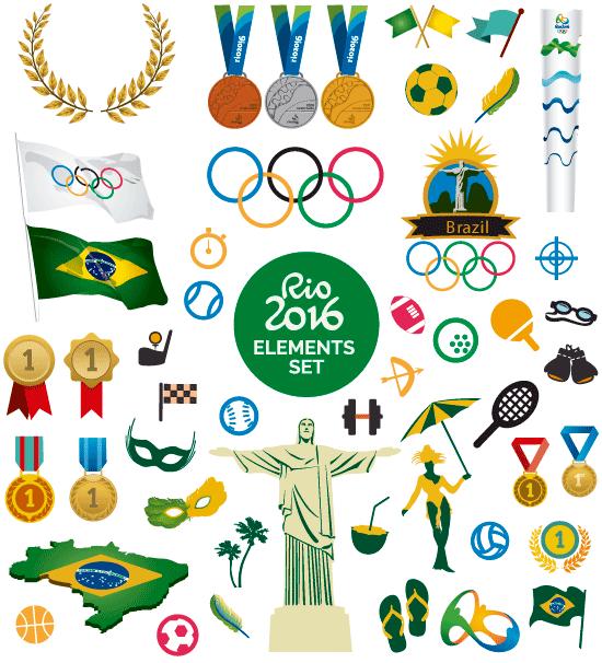 Elementos de las Olimpiadas de Río 2016