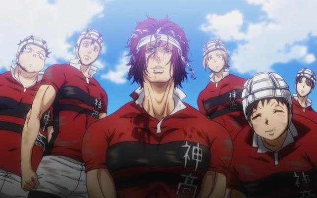 Anime sport terbaru