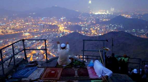 Foto: Menengok Keindahan Kota Makkah Dari Tempat Nabi Berkhalwat