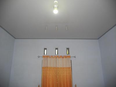 Hasil Pemasangan Shunda Plafon di Rumah Bapak Fajar